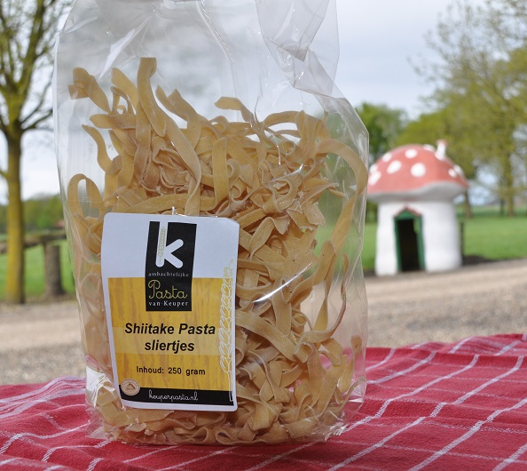 Shiitake-pasta-sliertjes